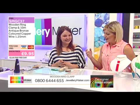 Learn How to Gem Set with Perspex [Tutorial]: Jewellery Maker DI 24/08/14