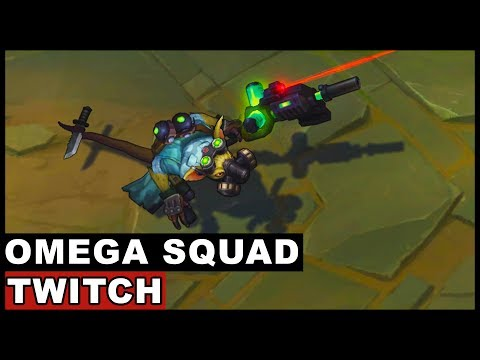 Omega Squad Twitch Skin Spotlight (League of Legends)