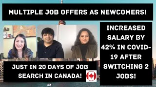 Newcomer To Canada With Multiple Offers , Job Search Tips, EP #1, Straight From The Source.