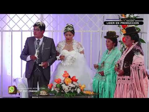 La boda del Año♫en Juliaca Wilson Mamani Z.♫Norma Ruelas™Studios DHAPStv Abril 2018