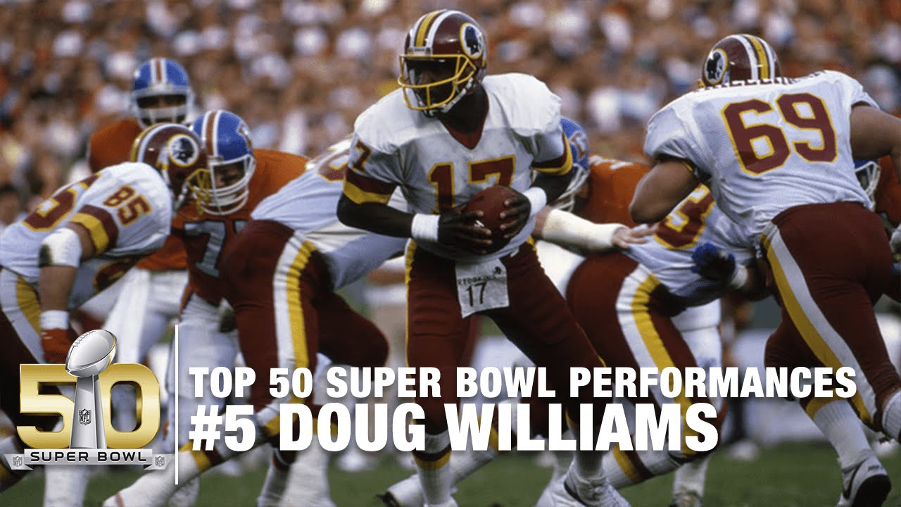 5  Doug Williams Super Bowl XXII Highlights  de4fbbec9
