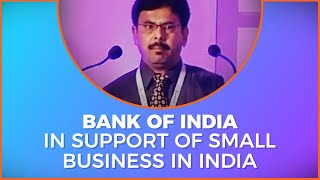 Rajesh Sheth of Bank of India at Small