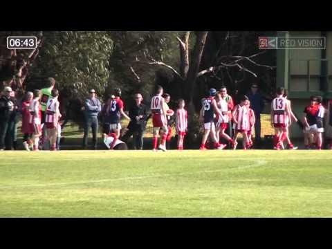 SMJFL 2014 Under 11 South Mordialloc Braeside v Bentleigh Red