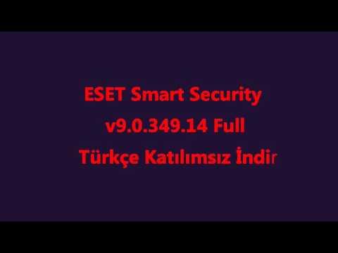 ESET Smart Security v9 0 349 14 Full Türkçe Katılımsız İndir