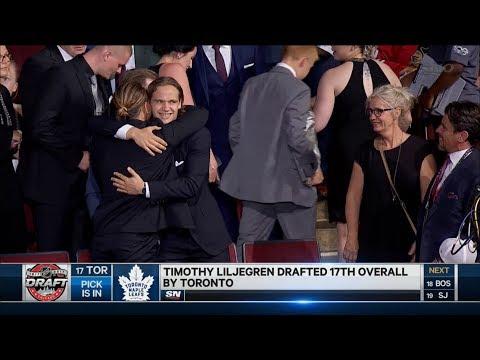 2017 NHL Draft: Toronto Maple Leafs Select Timothy Liljegren