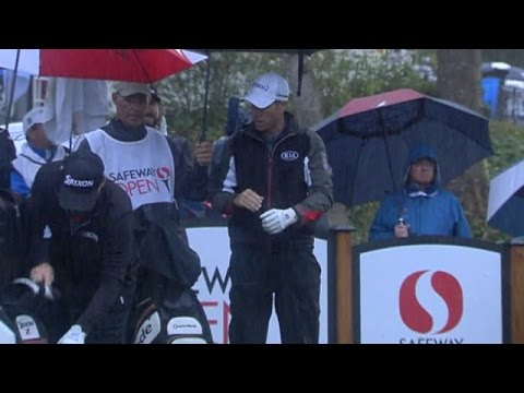 Highlights   Rainy conditions give way to scoring conditions at Safeway