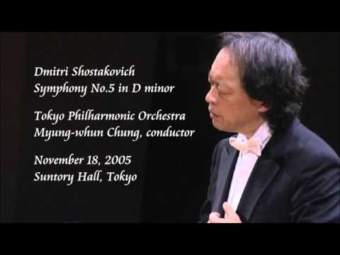 Shostakovich: Symphony No.5 in D minor - Chung / Tokyo Philharmonic Orchestra