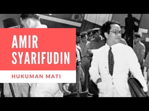 Kisah Eksekusi Sang Mantan Perdana Menteri Amir Syarifuddin Gembong PKI Madiun