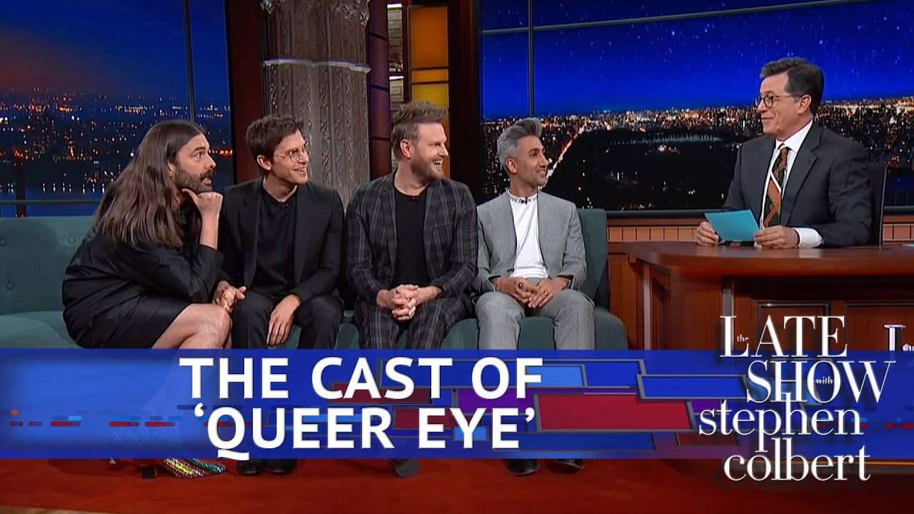 Rapid Fire Questions For The Queer Eye Guys - YouTube