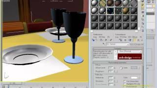3dsMAX Урок 20. Создание материалов. Часть 2-1.