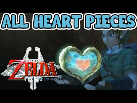 All Heart Pieces In The Legend Of Zelda: Twilight Princess HD - TPHD Guide