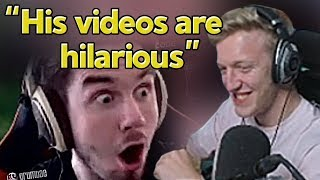 "Tfue Reacts to Our Montage ""We Enhanced 72hrs with this Fortnite Edit"""