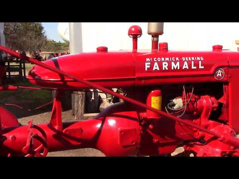 Consecutive Serial Number 1940 Farmall As,  Finishing Touches.