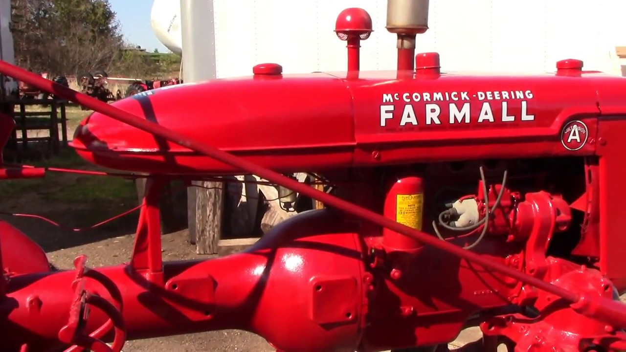 consecutive serial number 1940 farmall as finishing touches youtube 1948 Farmall Cub Tractor consecutive serial number 1940 farmall as finishing touches
