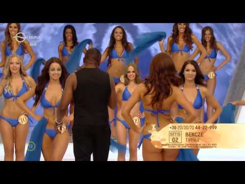 Miss World Hungary 16 finalist girls in bikini with the amazing performance of Haddaway thumbnail