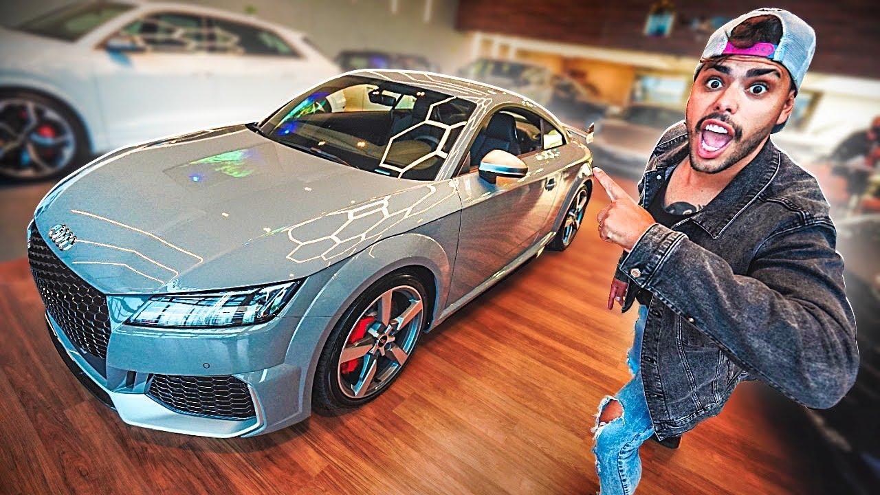 FUI NA LOJA DE CARROS IMPORTADOS  DA MINHA CIDADE * encontrar meu carro novo *