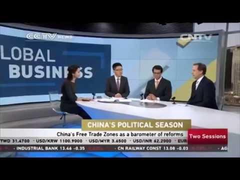 CCTV News, Biz Asia, Global Business (5 March 2015) - China Political Season