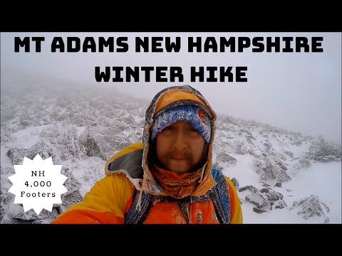 Mt Adams New Hampshire Winter Hike Information & Review