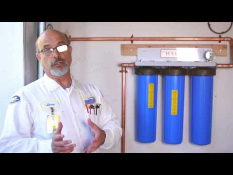 Whole House Water Filtration Information