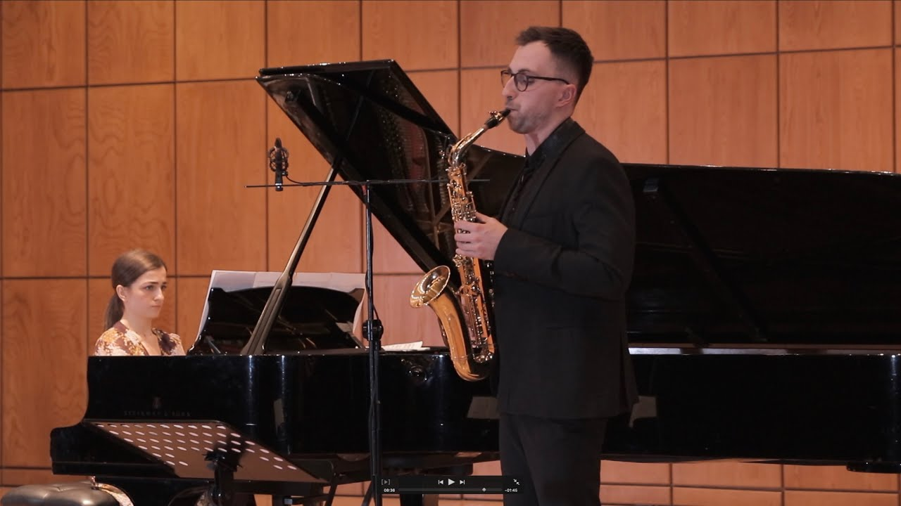 Classicpair - R. Muczynski - Sonata for Alto Saxophone and Piano, Op. 29