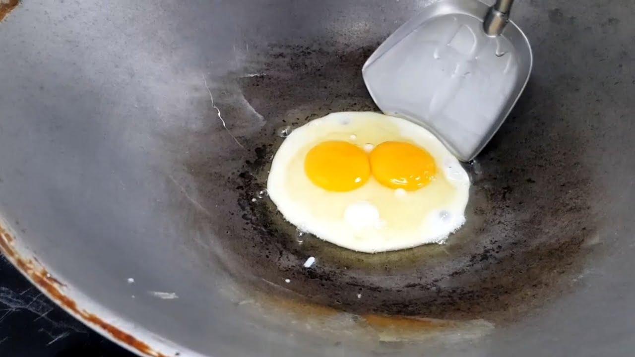ทอดไข่ดาว(ไข่แฝด) | น้องพอร์ช