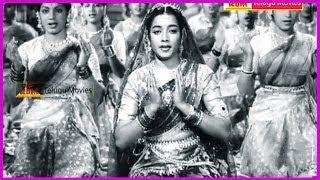 Nagula Chavithi - All Time Superhit Telugu Movie Song - Showkar Janaki, Jamuna