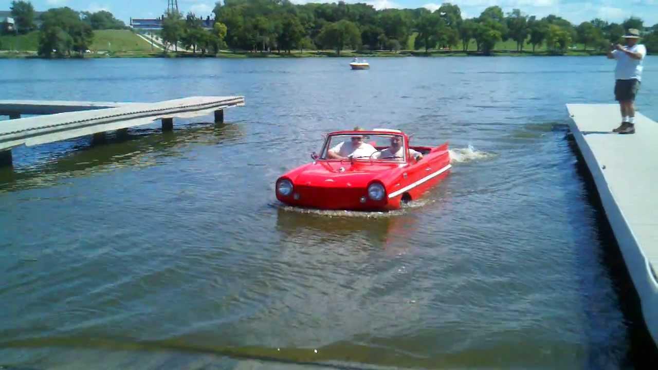 How To Total A Car >> Anfibios amphibious vehicles amphicar car 770-1961-1968 A true Survivor - YouTube