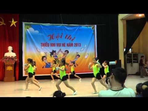 thể dục nhịp điệu thiếu nhi cụm 8 - phường Phương Liệt (giải nhất - 2013)