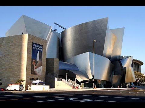 Walt Disney Concert Hall - Los Angeles, California.