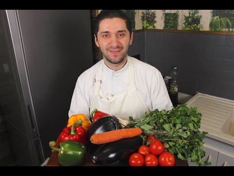 🇬🇪 АДЖАПСАНДАЛИ 🇬🇪 | Грузинская кухня | Классический рецепт аджапсандал