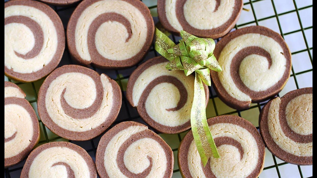How to Make Pinwheel Cookies 롤쿠키 만들기 - 한글자막