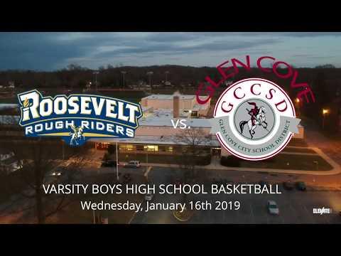 Roosevelt vs. Glen Cove   1/16/19   High School Varsity Basketball   Conference A III Part 1