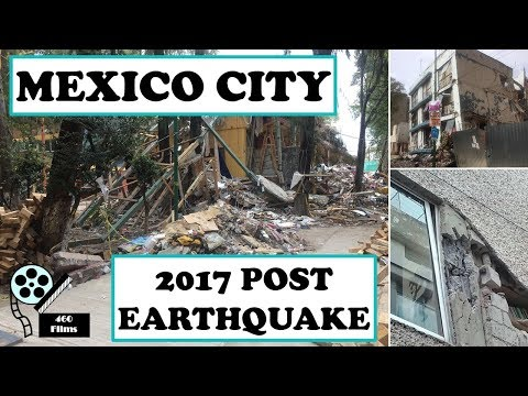 Mexico City Post-Earthquake Reconnaissance || My Experience