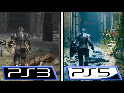 Demon's Souls Remake | PS5 VS PS3 | Gameplay Reveal Comparison