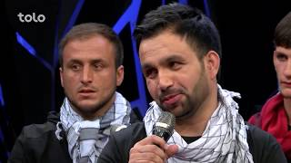 زیر چتر عید - صحنه های جالب - صحبت های مهدی فرخ