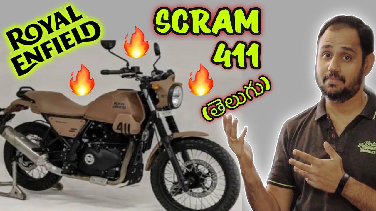 Royal Enfield SCRAM 411 - New Model | Himalayan Scrambler | Modified Himalayan | Telugu | GVR Films