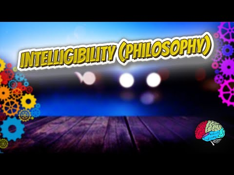 Intelligibility philosophy