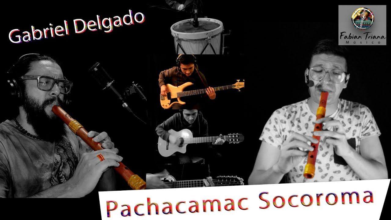 Pachacamac Socoroma - Gabriel Delgado - Cover