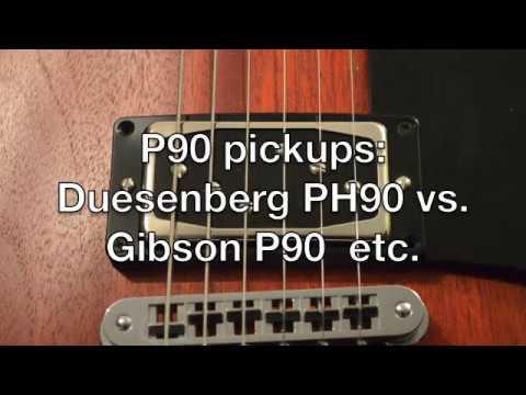 Großartig Verdrahtung P90 Pickups Bilder - Elektrische ...