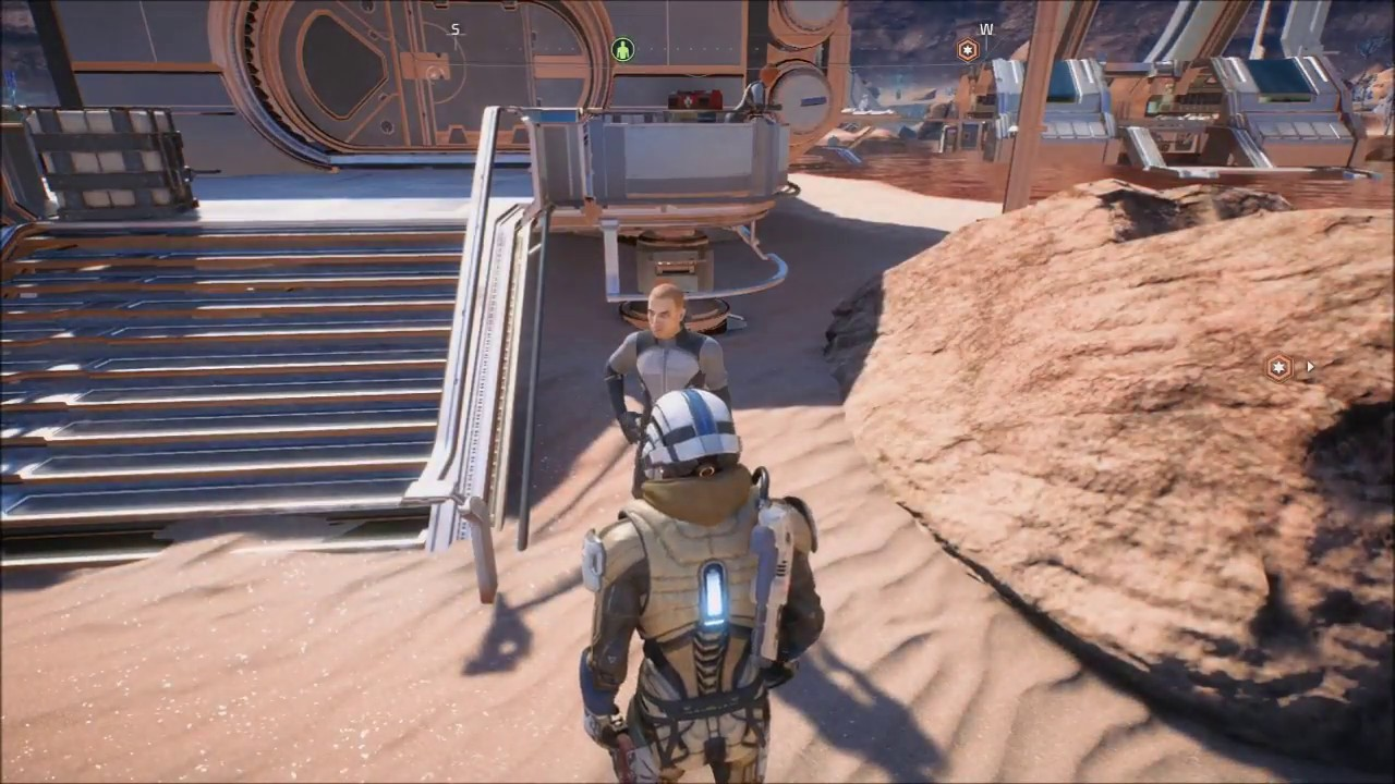 Mass Effect Andromeda Pathfinder Armor Crafting Side Quest Youtube
