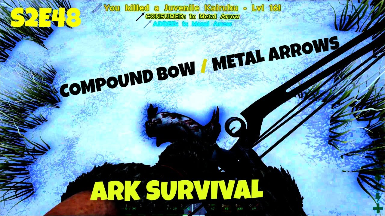 Compound bow tips carno island cave guide e48 ark survival compound bow tips carno island cave guide e48 ark survival evolved youtube malvernweather Image collections