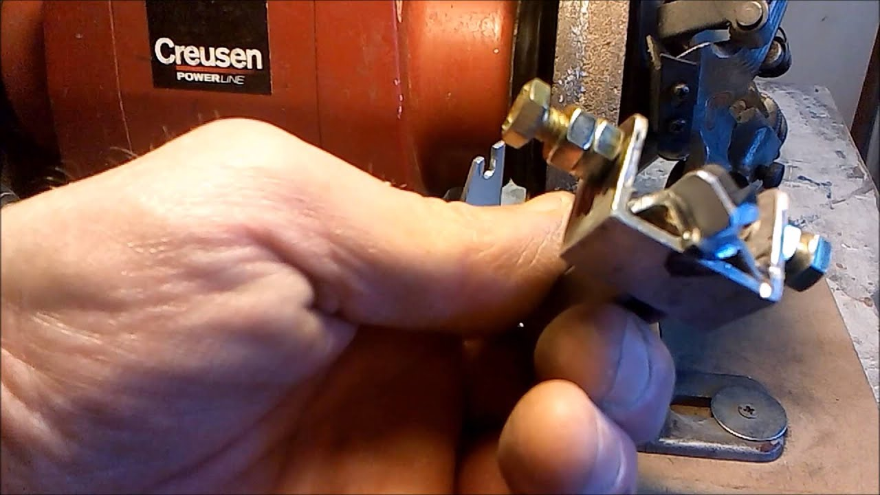 Twist Drill Grinding Jig Easy Way Homemade Part 2 Youtube