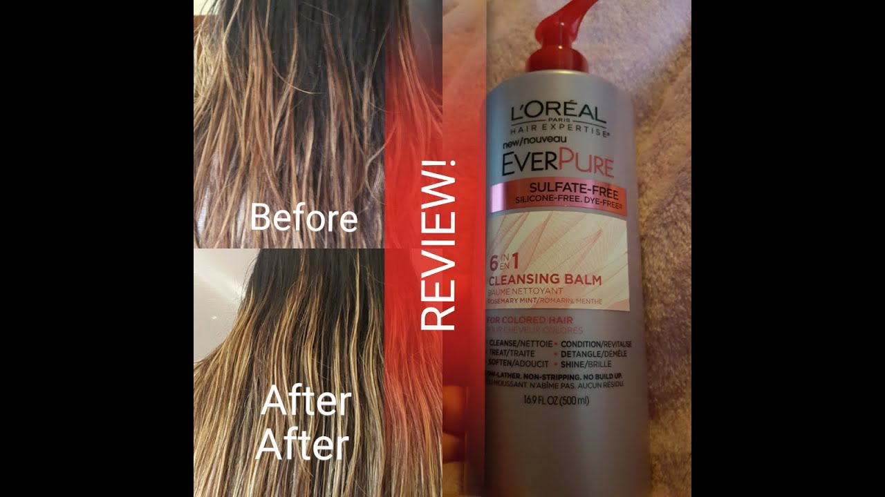 Influenster Sent Me A L Oreal Vox Box To Test Out And Included Were Color Vibrancy Intensive Shampoo Conditioner Post Repair Mask