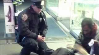AMAZING STORY!! Cop gives boots to homeless man!