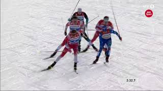 JOHANNES HØSFLOT KLÆBO wins GOLD in WC Seefeld 2019