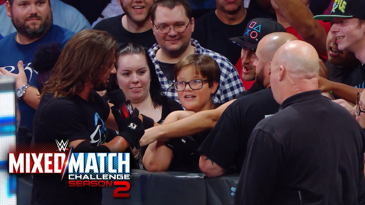 aj-styles-woos-the-crowd-following-fenomenal-flair-s-mixed-match-challenge-victory