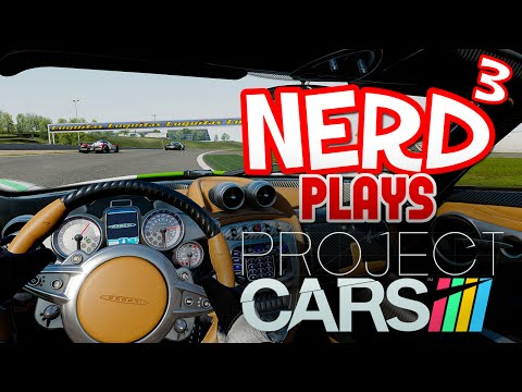 Nerd³ Plays... Project CARS VR - Stig Shift