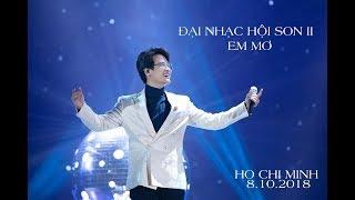 [Fancam] HÀ ANH TUẤN| 08.10.2018 |ĐẠI NHẠC HỘI SON II | EM MƠ