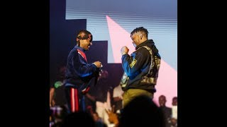 OLIC 5 Wizkid steals the show at Olamides concert Timaya Phyno Praiz Lilkesh performs