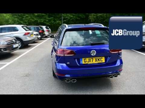 GJ17XKC Volkswagen Golf 2.0 TSI R 4MOTION BMT (310 PS) DSG 2l JCB VW MEDWAY